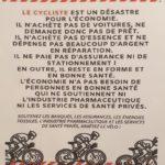 Soutenons le vélo dans nos villes