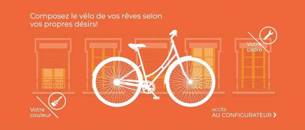 Configurez-vous même le vélo qu'il vous faut avec Velo de Ville